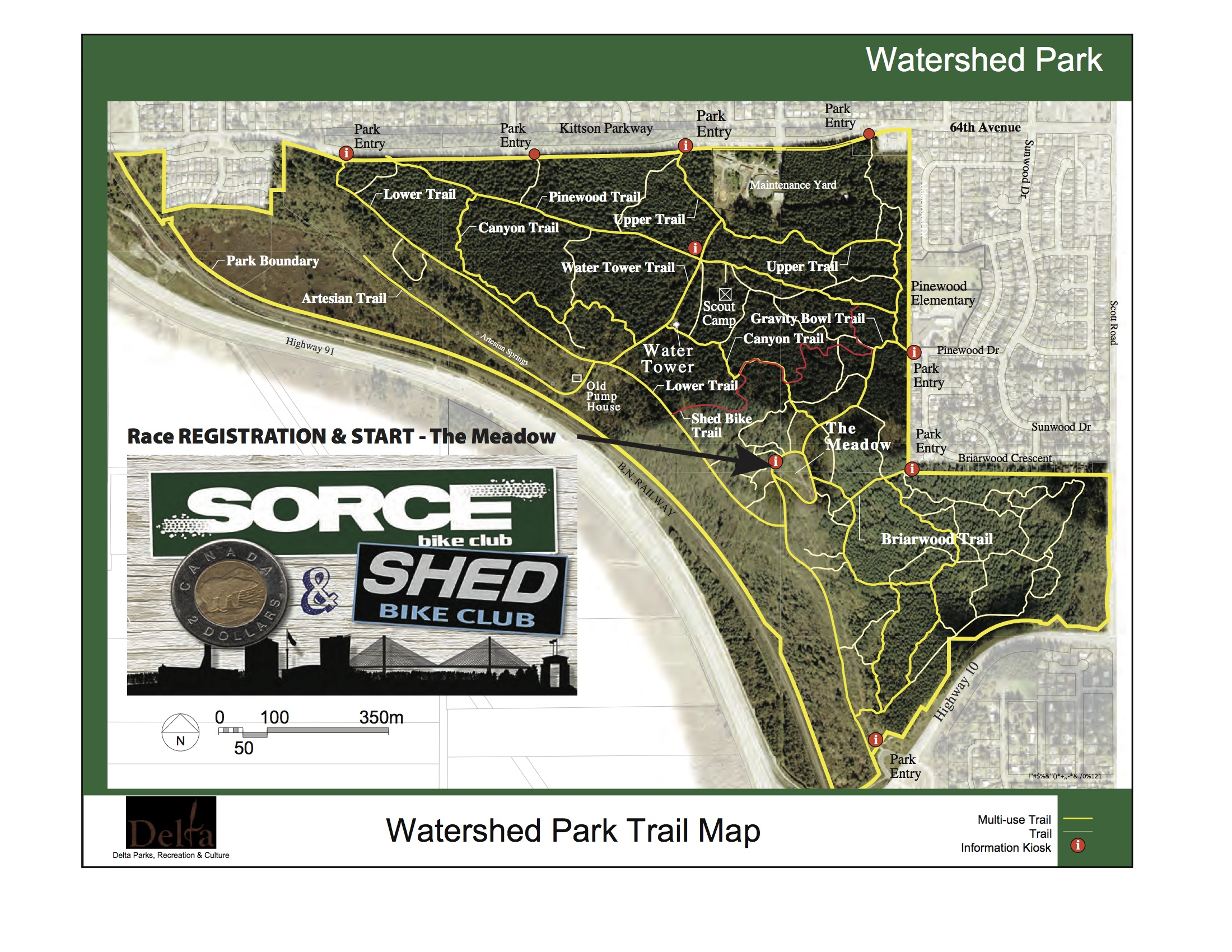 SHED map Toonie