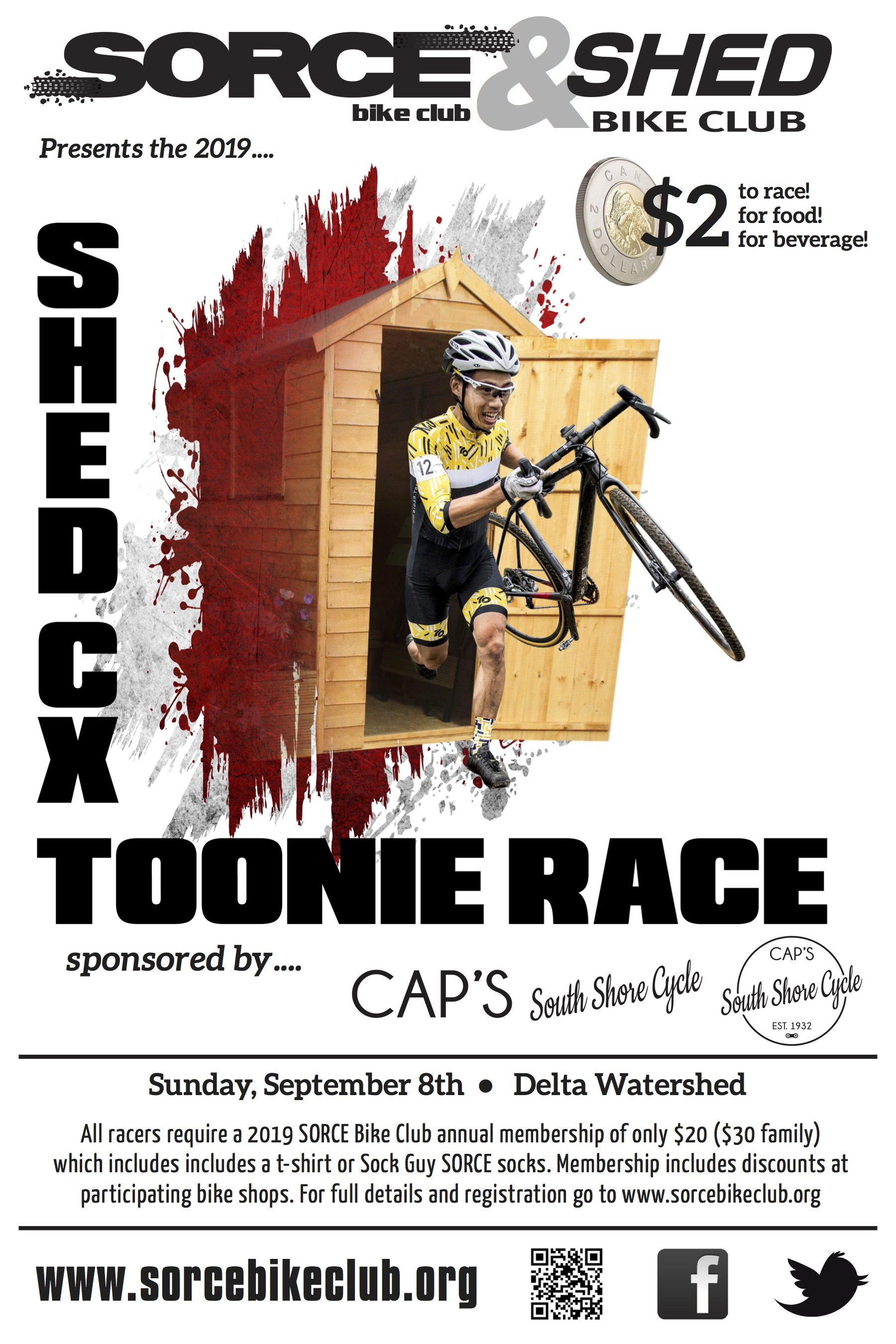 SHED CX Toonie poster